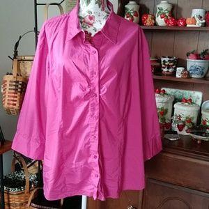 Fashion Bug blouse Size 4X